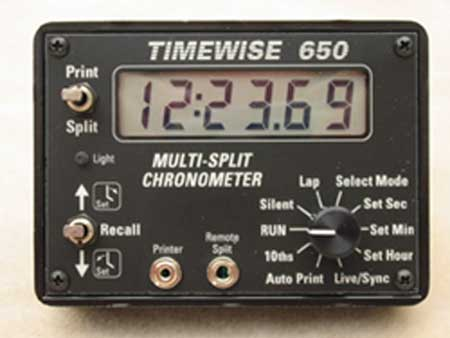 TIMEWISE 650 MULTI-SPLIT RALLY CLOCK